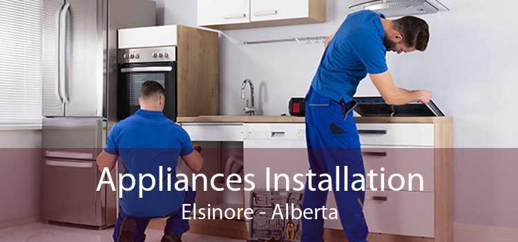 Appliances Installation Elsinore - Alberta