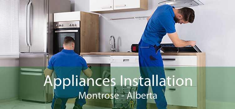 Appliances Installation Montrose - Alberta