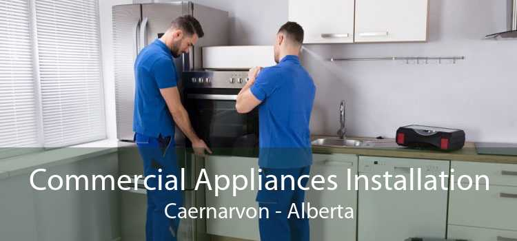 Commercial Appliances Installation Caernarvon - Alberta