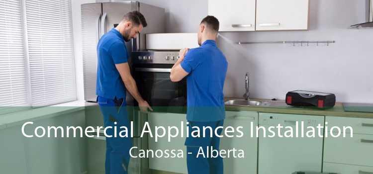 Commercial Appliances Installation Canossa - Alberta
