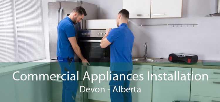 Commercial Appliances Installation Devon - Alberta
