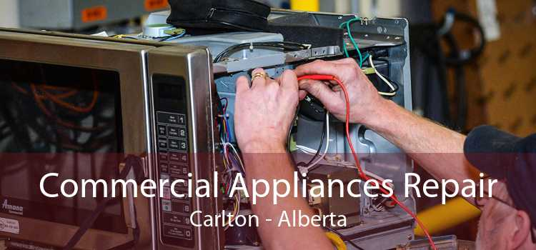 Commercial Appliances Repair Carlton - Alberta