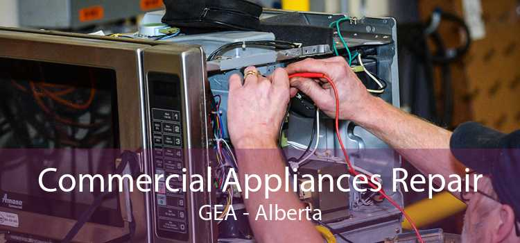 Commercial Appliances Repair GEA - Alberta