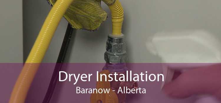 Dryer Installation Baranow - Alberta
