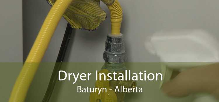 Dryer Installation Baturyn - Alberta