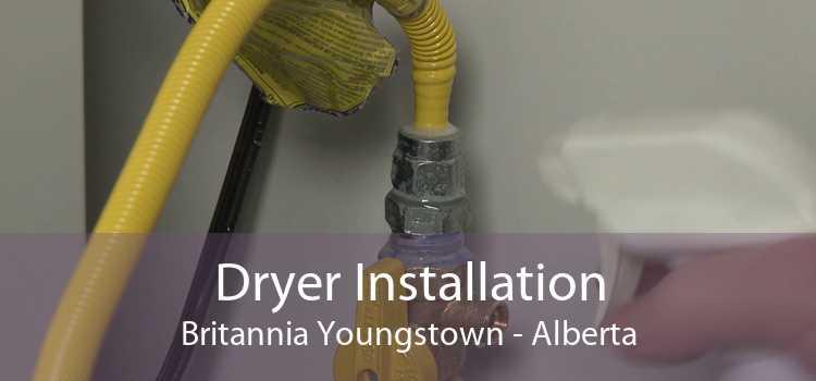 Dryer Installation Britannia Youngstown - Alberta