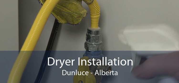 Dryer Installation Dunluce - Alberta