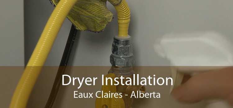 Dryer Installation Eaux Claires - Alberta