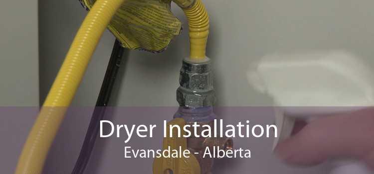 Dryer Installation Evansdale - Alberta