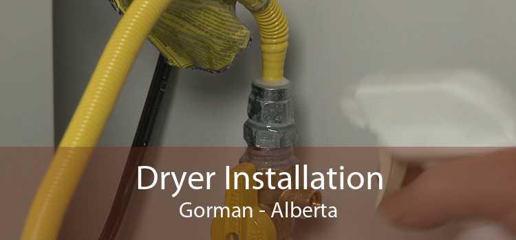 Dryer Installation Gorman - Alberta