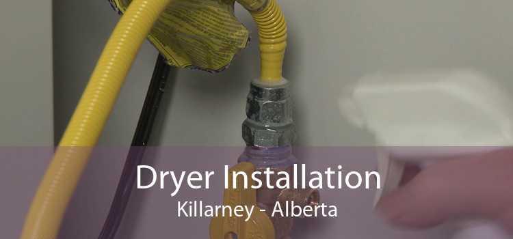 Dryer Installation Killarney - Alberta
