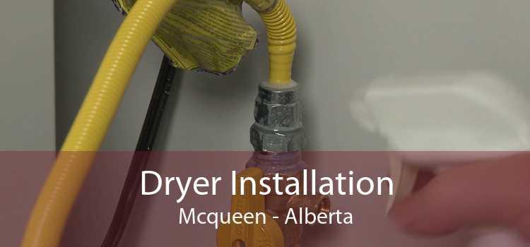 Dryer Installation Mcqueen - Alberta