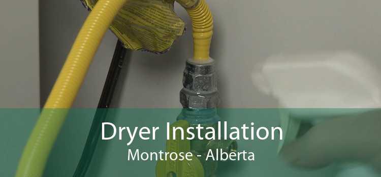 Dryer Installation Montrose - Alberta