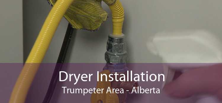 Dryer Installation Trumpeter Area - Alberta