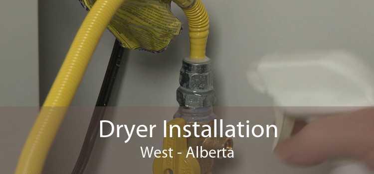 Dryer Installation West - Alberta
