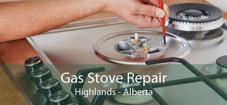 Gas Stove Repair Highlands - Alberta