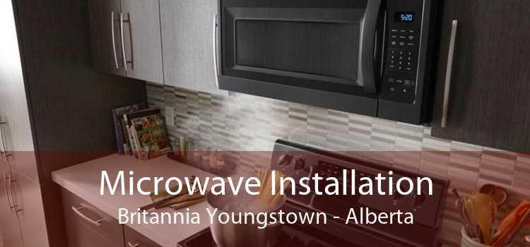 Microwave Installation Britannia Youngstown - Alberta