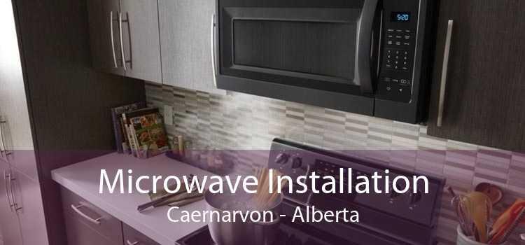Microwave Installation Caernarvon - Alberta
