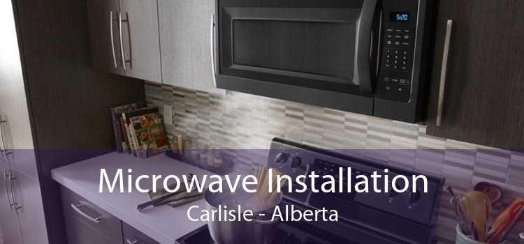 Microwave Installation Carlisle - Alberta