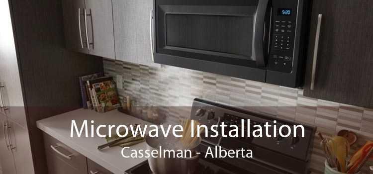 Microwave Installation Casselman - Alberta