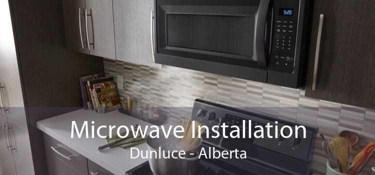 Microwave Installation Dunluce - Alberta