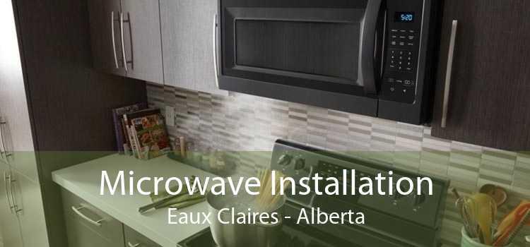 Microwave Installation Eaux Claires - Alberta