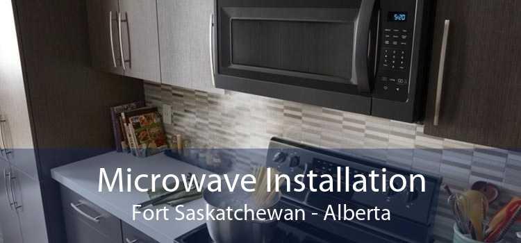 Microwave Installation Fort Saskatchewan - Alberta