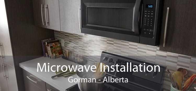 Microwave Installation Gorman - Alberta