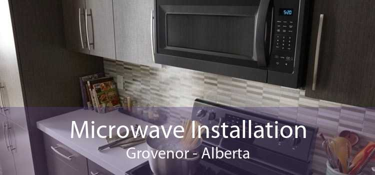 Microwave Installation Grovenor - Alberta