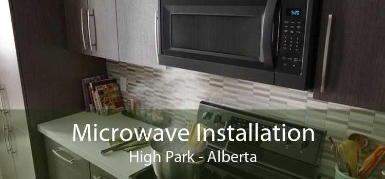 Microwave Installation High Park - Alberta