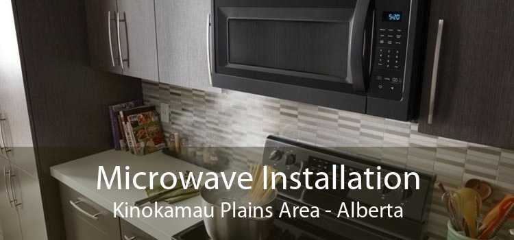 Microwave Installation Kinokamau Plains Area - Alberta