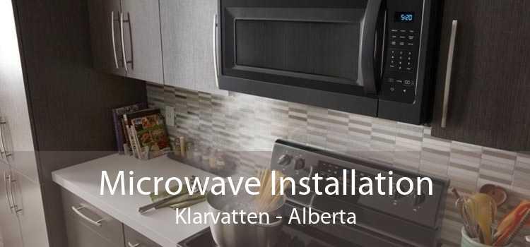 Microwave Installation Klarvatten - Alberta