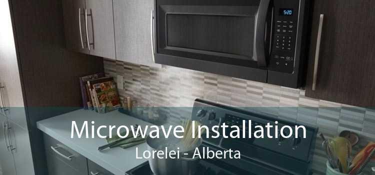 Microwave Installation Lorelei - Alberta