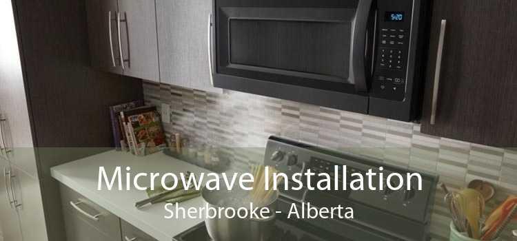 Microwave Installation Sherbrooke - Alberta