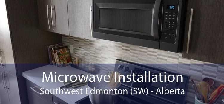 Microwave Installation Southwest Edmonton (SW) - Alberta