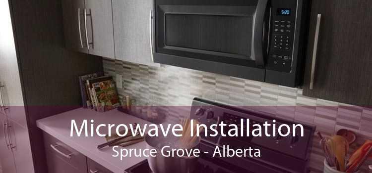 Microwave Installation Spruce Grove - Alberta