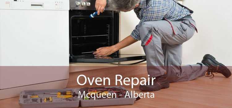 Oven Repair Mcqueen - Alberta