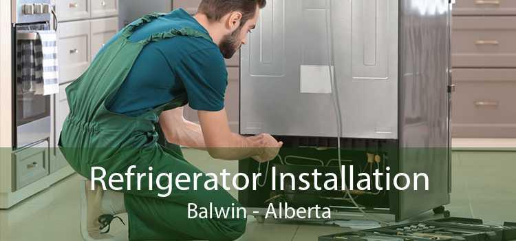 Refrigerator Installation Balwin - Alberta
