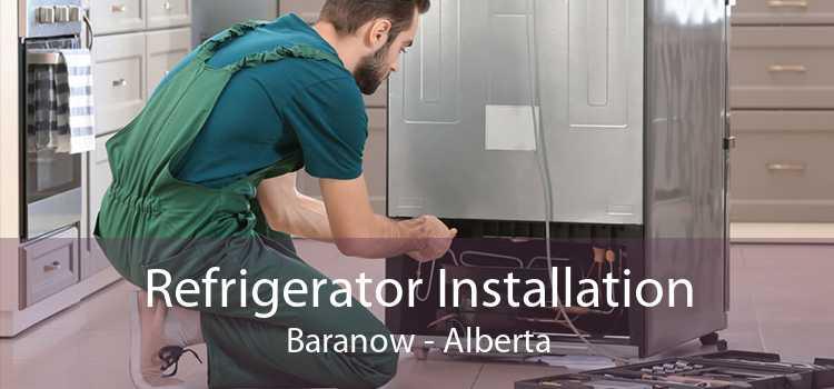 Refrigerator Installation Baranow - Alberta