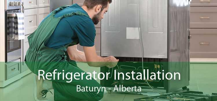 Refrigerator Installation Baturyn - Alberta
