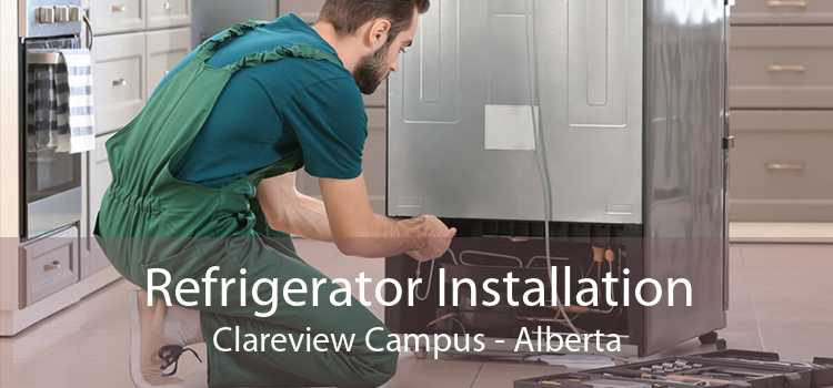 Refrigerator Installation Clareview Campus - Alberta