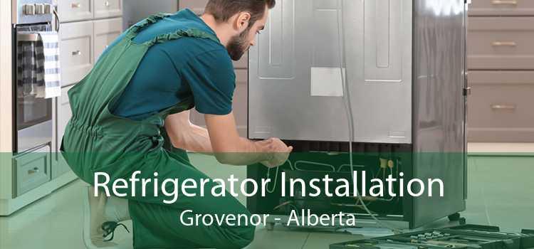 Refrigerator Installation Grovenor - Alberta