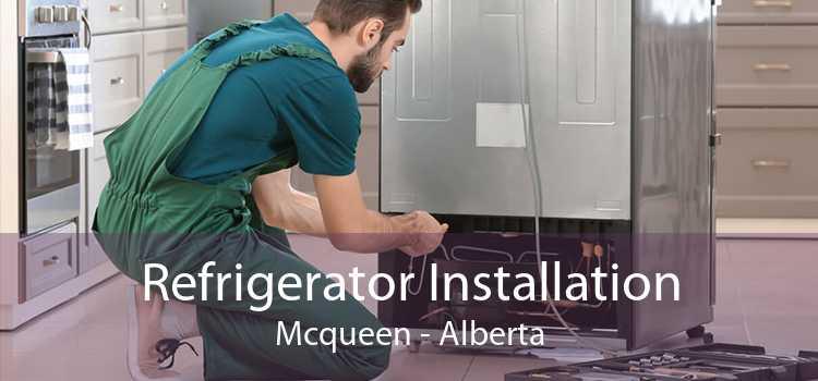 Refrigerator Installation Mcqueen - Alberta
