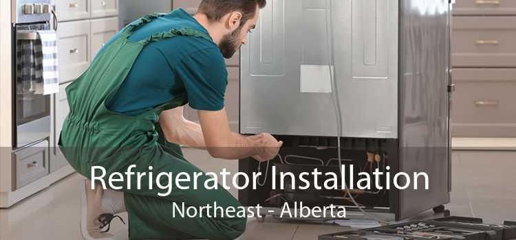 Refrigerator Installation Northeast - Alberta
