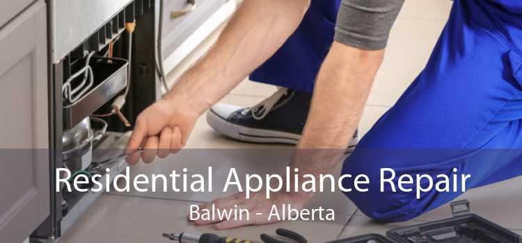 Residential Appliance Repair Balwin - Alberta