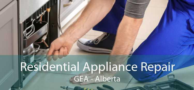 Residential Appliance Repair GEA - Alberta
