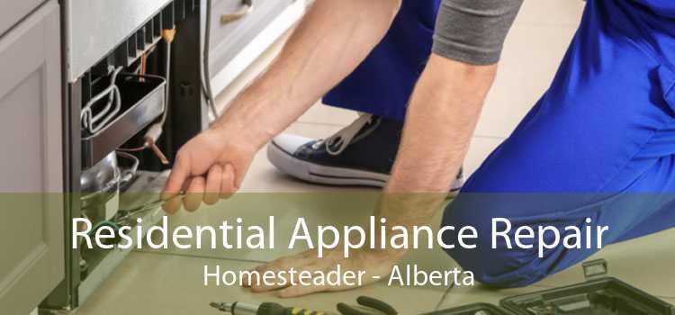 Residential Appliance Repair Homesteader - Alberta