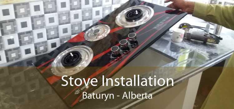 Stove Installation Baturyn - Alberta