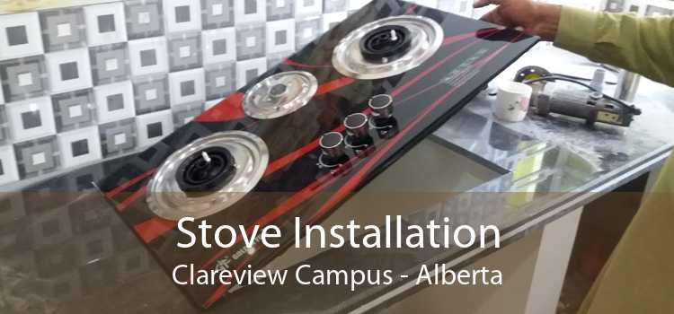 Stove Installation Clareview Campus - Alberta