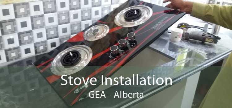 Stove Installation GEA - Alberta